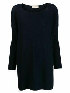 Gentry Portofino oversized cashmere jumper - Blue