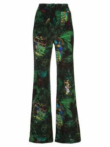 Fete Imperiale Moody appoloni silk trousers - Green