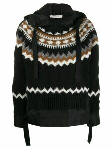 Dorothee Schumacher knitted hoody - Black