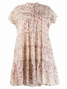 Isabel Marant Étoile Lanikaye baby doll dress - Neutrals