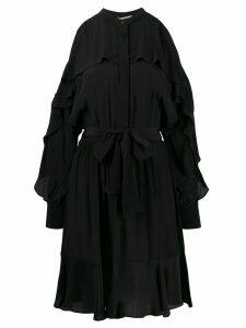 Twin-Set cold-shoulder dress - Black