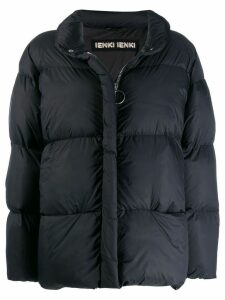 Ienki Ienki zip trim puffer jacket - Black