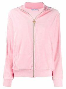 Chiara Ferragni zipped bomber jacket - Pink