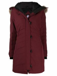Canada Goose hooded padded coat - Red