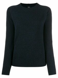 Aspesi relaxed-fit crew neck jumper - Blue