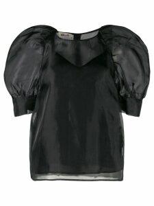 Baum Und Pferdgarten puff-shoulder blouse - Black
