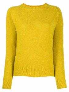 Aspesi raglan jumper - Yellow