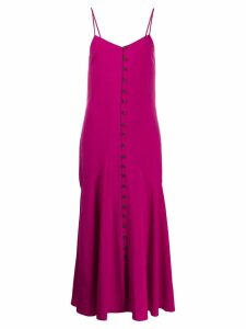 Mara Hoffman flared sleeveless dress - Pink