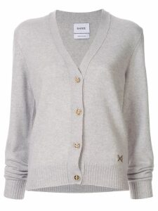 Barrie V-neck cardigan - Grey