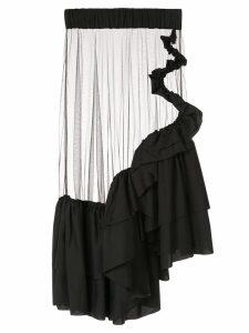 Roberts Wood sheer tulle skirt - Black