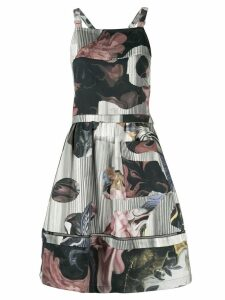 Roberts Wood collage print dress - Green
