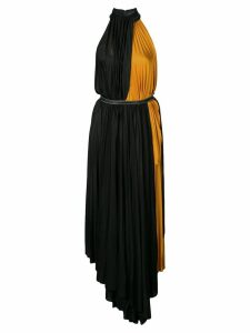 Proenza Schouler gathered long dress - Black