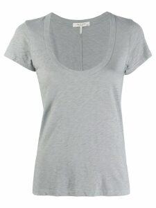 Rag & Bone U-neck T-shirt - Blue