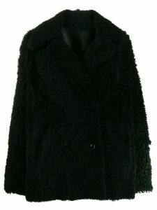 Drome reversible double-breasted coat - Black
