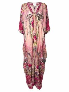 Camilla floral print kaftan dress - CLA. LABELL