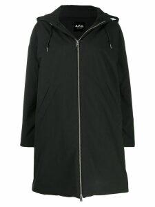 A.P.C. Storm parka coat - Black