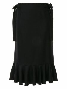 Sueundercover bow detail skirt - Black