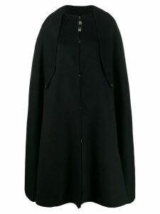 Cavalli Class oversized flared cape - Black