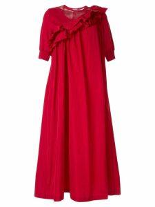 Sueundercover ruffle shift dress - Red