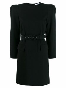 Givenchy belted structured dress - Black