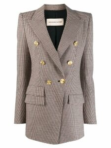Alexandre Vauthier houndstooth double-breasted blazer - Neutrals