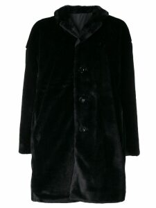 Aspesi reversible midi coat - Black
