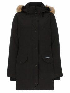 Canada Goose CG arctic trillium fur trimmed parka - Black
