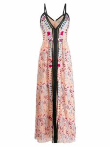 Temperley London Rosy strappy dress - Neutrals