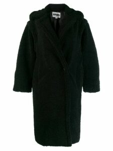 Apparis oversized coat - Black