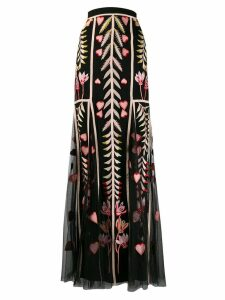 Temperley London Rosy tulle skirt - Black
