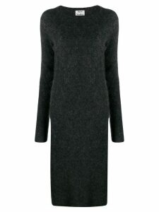 Acne Studios knitted midi dress - Grey