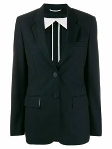 Maison Flaneur colour block blazer - Blue
