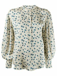 Chloé printed buttoned blouse - Neutrals