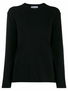 be blumarine box-fit sweatshirt - Black