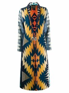 Jessie Western Dance long coat - Blue