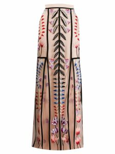 Temperley London Rosy tulle skirt - Neutrals