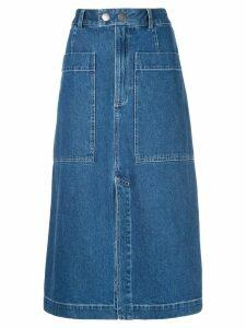 Sea Marble skirt - Blue