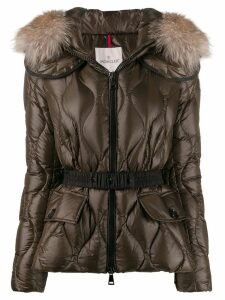 Moncler Cauvery puffer jacket - Brown