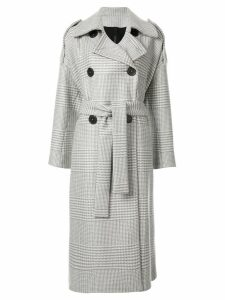 Petar Petrov double-breasted trench coat - Grey