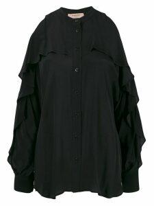 Twin-Set cold-shoulder top - Black