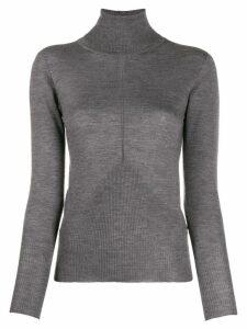 Lorena Antoniazzi turtle neck sweater - Grey