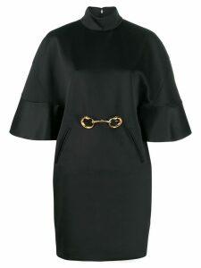 Cavalli Class short-sleeve mini dress - Black
