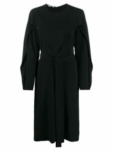 Stella McCartney draped dress - Black