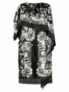 Antonio Marras floral print dress - Black