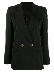 Petar Petrov double breasted blazer - Black