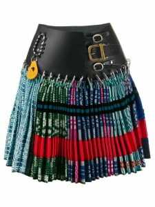 Chopova Lowena belted skirt - Blue