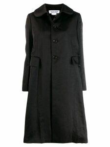 Comme Des Garçons Comme Des Garçons loose-fit long coat - Black