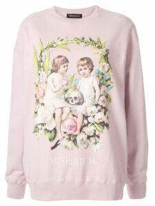 Undercover Suspirium Children print sweatshirt - Pink