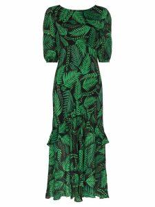 Rixo Cheryl printed midi-dress - Green