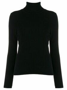 Allude cashmere roll-neck jumper - Black